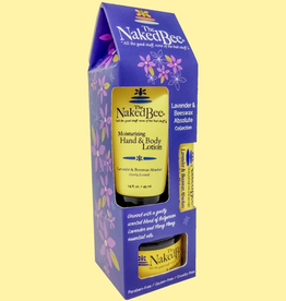 The Naked Bee - Lavender & Beeswax Absolute  Gift Collection