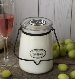 Butter Jar 22 oz:  Celebrate!