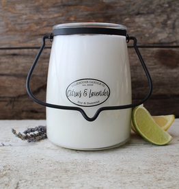 Butter Jar 22 oz:  Citrus & Lavender