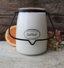 Butter Jar 22 oz:  Gratitude