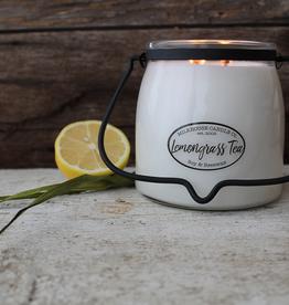 Butter Jar 16 oz:  Lemongrass Tea