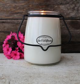 Butter Jar 22 oz:  Lilac & Wildflowers