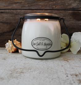 Butter Jar 16 oz:  Sea Salt & Magnolia