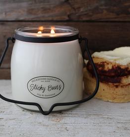 Butter Jar 16 oz:  Sticky Buns