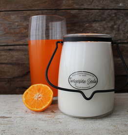 Butter Jar 22 oz:  Tangerine Soda