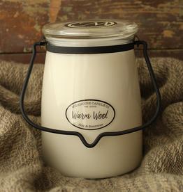 Butter Jar 22 oz:  Warm Wool