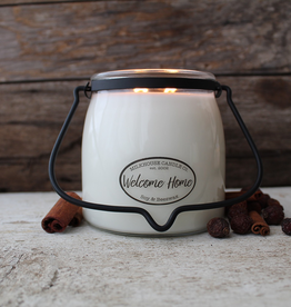 Butter Jar 16 oz:  Welcome Home