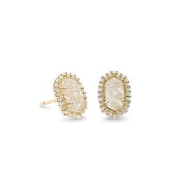 Kendra Scott - Cade Earrings in Iridescent Drusy