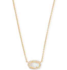 Kendra Scott Chelsea Necklace Gold Ivory MOP