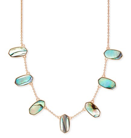 Kendra Scott Meadow Necklace RSG Abalone Shell