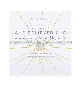 Katie Loxton a little She Believed She Could Bracelet