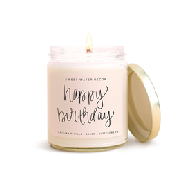 Sweet Water Decor Happy Birthday Soy Candle