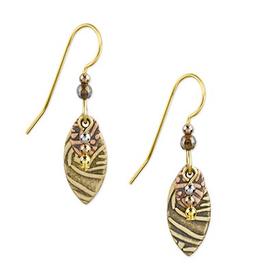 Silver Forest Surgical Steel Dangle Earrings