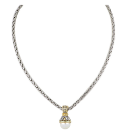 John Medeiros - Ocean Images Collection 12mm Pearl on 16in Chain