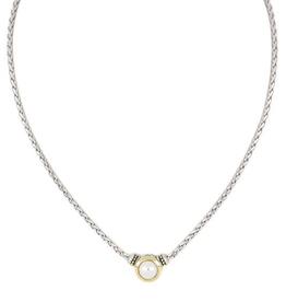 John Medeiros - Perola White Seashell Pearl Necklace