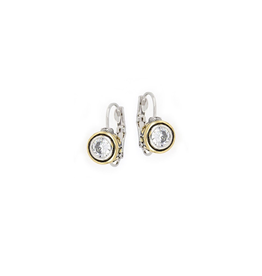 John Medeiros - Beijos CZ Bezel Set Earrings 6 MM