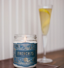 Rewined Cocktail Collection French 75 Candle