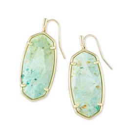 Kendra Scott - Elle Earrings in Sea Green