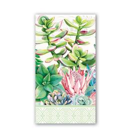 Michel Design Works - Hostess Napkins/Pink Cactus