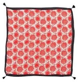 Rock Flower Paper Gianna Red Silk Scarf