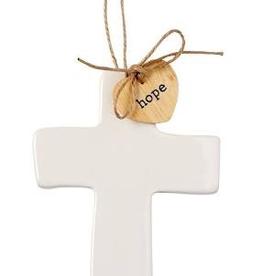 Mud Pie - Cross Sentiment Decorative Hanger