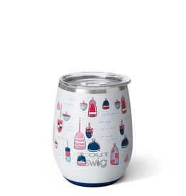 Swig Stemless Wine Cup-Buoy Oh Buoy by Scout