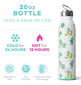 Swig 20oz Bottle-Cactus Makes Perfect by Scout
