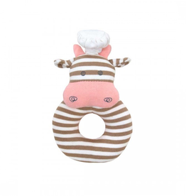 Apple Park - Chef Cow Teething Rattle