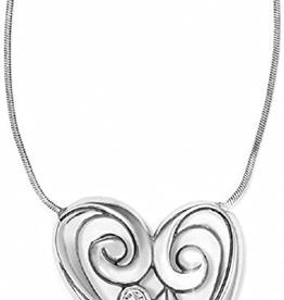 Brighton Brighton Concerto Heart Necklace