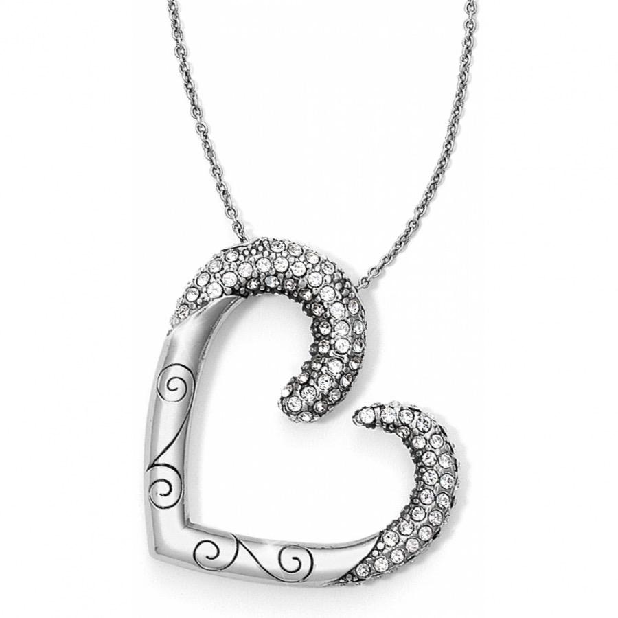 Brighton Brighton Cristalina Heart Necklace