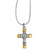Brighton Brighton Venezia Rev Cross Necklace