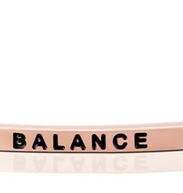 """MantraBand - """"Balance"""" Rose Gold"""