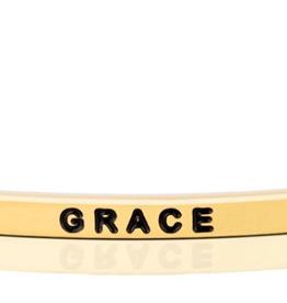 "MantraBand - ""Grace"" Yellow Gold"
