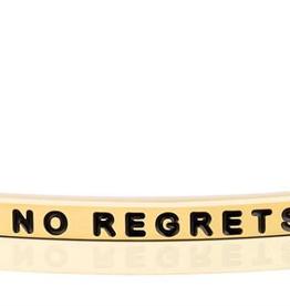 "Mantraband - ""No Regrets"" Gold"