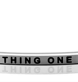 """Mantraband - """"Thing One Silver"""