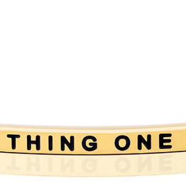 """Mantraband - """"Thing One Gold"""