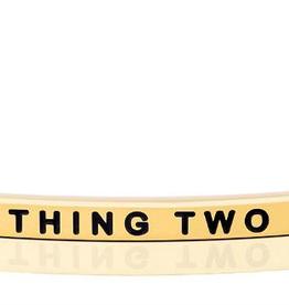 "Mantraband - ""Thing 2"" Gold"