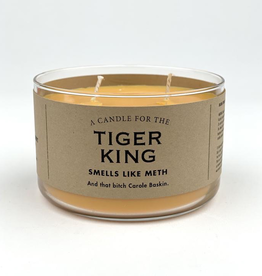 Whiskey River Soap Company - Tiger King - Candle