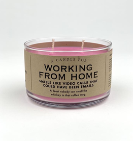 Whiskey River Soap Company - Working From Home - Candle