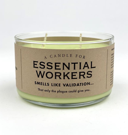 Whiskey River Soap Company - Essential Worker - Candle