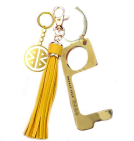 Don't Touch That Keychain - Yellow