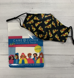 Kid's Care Cover Mask - Pizzas