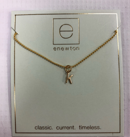 "enewton - 16"" Necklace Gold Respect Gold Charm - K"