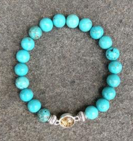 Jersey State Line - Ocean City, New Jersey/Turquoise Magnesite