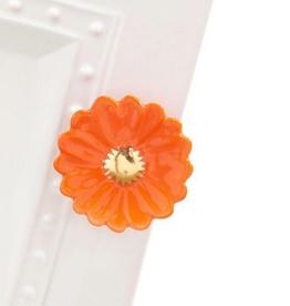 Nora Fleming - Orange Flower Disc