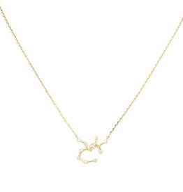 Initial Reaction Constellation Necklace - Sagittarius/Gold