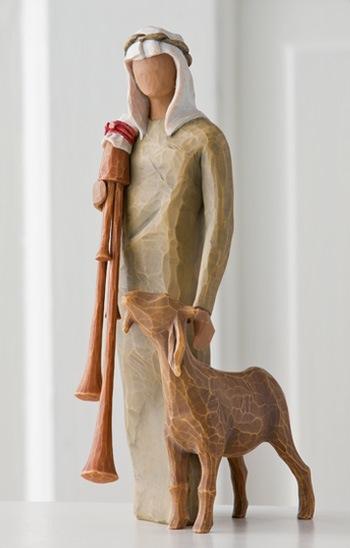 Willow Tree - Zampognaro (Shepherd with bagpipe)