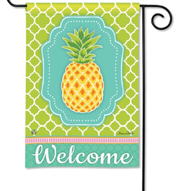 Garden Flag - Preppy Pineapple
