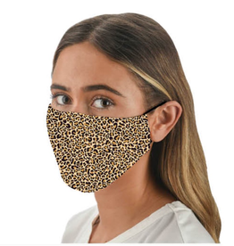 Snoozies Leopard Fashion Face Covering