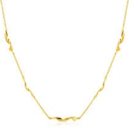 "Ania Haie Helix 15"" Necklace"